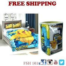 pokemon bed set brand new big twin full comforter with 2 target pokemon bed set