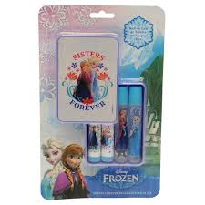 frozen sisters forever fragrance and balm set