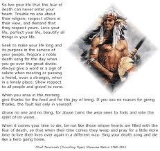 Tecumseh Quotes Classy Chief Tecumseh Quotes