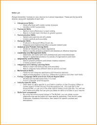 Resume Skills List Resume Office Work Office Manager Description For