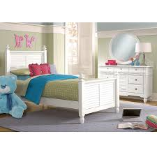 Seaside Bedroom Seaside 5 Piece Full Bedroom Set White Value City Furniture