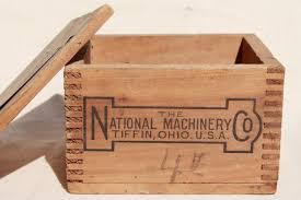 Large Wooden Boxes To Decorate Wood Shipping Crate W Machinery Advertising Graphics Rustic File 7