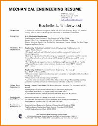 Mechanical Engineering Resume Sample Free Download Best Download