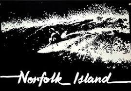 We Print to Order - <b>Surfing on</b> Norfolk Island