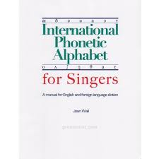 By using ipa you can know exactly. Groth Music Company International Phonetic Alphabet For Singers