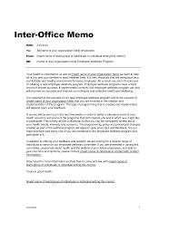 Sample Executive Memo Example Of An Office Memo Letter Intent Loi Memorandum Understanding 11