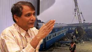 Image result for images of relmantri suresh prabhu