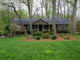 Ranch House Curb Appeal Hipped Roof Ranch House With Porch Front Porch Interesting
