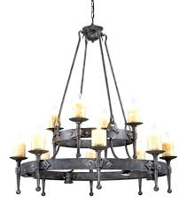 unforgettable non electric candle chandelier lighting