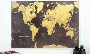 World Map Posters One Or Two Scratch The World Map Posters
