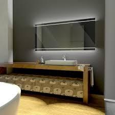 Badspiegel Beleuchtet Holz