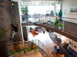 google office in seattle. ...which Is Also Home To A Rock Climbing Wall Right Inside The Office · WallsGoogle OfficeSeattle Google In Seattle E