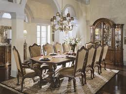 dining room formal room sets for 8 tommy bahama swivel counter stool with cushion rectangular