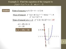 find an equation of the tangent line to curve at given point y