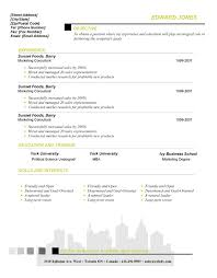 Resume Templates For Publisher Desktop Publishing Program Sample Resume Document