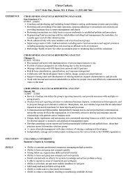 Resume For A Business Analyst Business Analyst Reporting Resume Samples Velvet Jobs