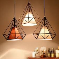 birdcage metal frame pendant lamp lightshade minimalist for room office decor uk in home furniture diy lighting lampshades lightshades