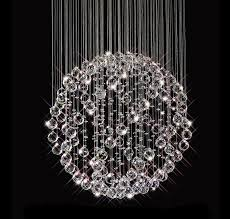 crystal ball chandelier is preferred over other types of chandeliers hanging glass ball chandelier
