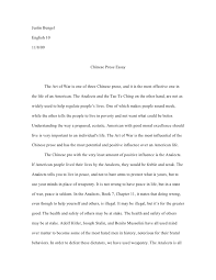 on poetry and prose essay on poetry and prose