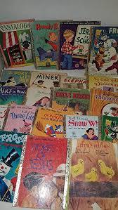 lot of 20 vine rare little golden books