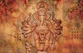 3d lord ganesha wallpaper on ganesh 3d wall art with 3d lord ganesha wallpaper customize wallpapers wholesale trader