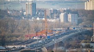 Am freitag wird die a66 im bereich der salzbachtalbrücke in wiesbaden gesperrt. Schiersteiner Brucke Zwischen Mainz Und Wiesbaden Soll 2021 Fertig Werden Swr Aktuell