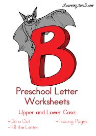 Free Preschool Letter B Worksheets - Learning 2 Walk