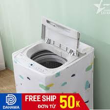 Áo trùm máy giặt cửa trên và cửa trước chống thấm nước, chống ánh nắng 6kg  - 9kg vải peva cực bền 18.atmg.donai - Sắp xếp theo liên quan sản phẩm