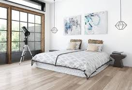 Minimalist Design Bedroom Concept With White Wall Paintings Stock Enchanting Wall Painting Designs For Bedroom Minimalist