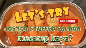 There are so many reasons to love costco. Simpleng Buhay Amerika Let S Try Costco Stuffed Salmon Masarap Kaya Nuyowkersvlog Youtube
