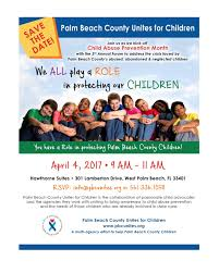 child abuse flyers events palm beach county unites for children