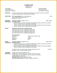 Volunteer Work Resume Objective Example Samples Examples For Jobs