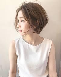 丸顔さん似合うおすすめの髪型ヘアスタイル10選2019 Cabello Y