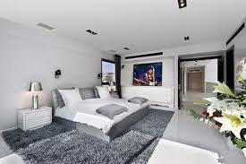 White And Grey Bedroom Ideas  Transforming Your Boring Room Into - Grey carpet bedroom