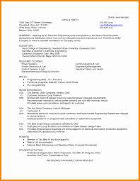 Resume For Testing Jobs Fresh Manufacturing Test Engineer Cover Letter Resume Sample Ideas 19