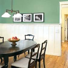wainscoting dining room. Fine Dining Wainscoting Dining Room With Green Walls  Designs   For Wainscoting Dining Room P
