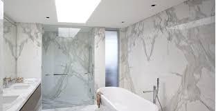 Marble wall tiles Grey Calacatta Marble Bathroom Sefa Stone Reasons To Use Calacatta Marble Tiles In Your Bathroom Sefa Stone