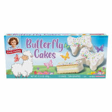 200 calories, nutrition grade (d plus), problematic ingredients, and more. Little Debbie Butterfly Creme Filled Cakes 10 Ct 1 07 Oz Kroger