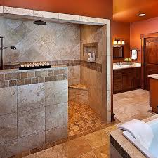 lovely walk in shower designs no glass home design pictures