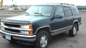 1996 Chevrolet Tahoe LS, 4 door SUV, 4X4, 5.7 liter Votec 350 V8 ...