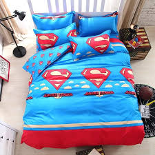 33 smart ideas king size superman bedding set superhero sets quilt duvet covers for good on with