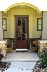 glass craft doors 6 lite single mahogany glass craft doors houston texas