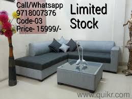 brand lowest l shape sofa set