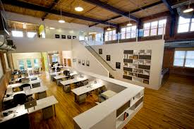 interior designing contemporary office designs inspiration. Inspiring Office Workspace Contemporary Interior Design With Double Height And Wooden Floor White Work Desk Award Winning Startup Designing Designs Inspiration R