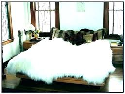furry white rug big gy fur faux rugs large area