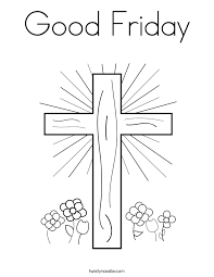 Small Picture Printable Happy Good Friday Coloring Pages Free For Adults Kids