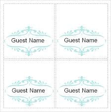 Template For Place Cards Free Printable Name Place Cards Free Free Printable Place Cards Word
