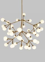 traditional chandelier brass led
