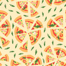 repeating pizza background. Interesting Background Seamless Pattern With Assorted Pizza Slices Illustration Repeating  Background U0421artoon Style Reklamn And Pizza Background A