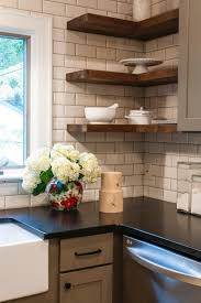 Corner Shelves For Kitchen Cabinets Simple Hot Chocolate Three Ways Black Kitchen Countertops 20